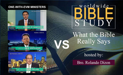 Worldwide Bible Study - June 13, 2018
